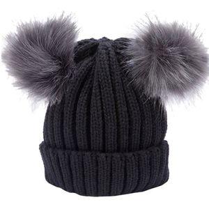 CHAPEAU - BOB Femmes Mode Chaud Chapeaux D'hiver Tricoté Laine H