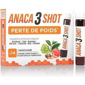 COMPLÉMENT MINCEUR ANACA 3 SHOT
