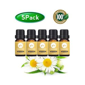 HUILE ESSENTIELLE Lot de 5 camomille 10ML huiles essentielles, 100%