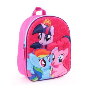 Sac à dos maternelle Little Pony Rainbow Rose GiJYOcKEn
