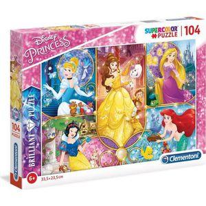 PUZZLE DISNEY PRINCESSES Puzzle Brilliant 104 pièces