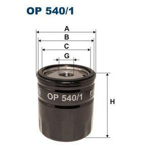 FILTRE A HUILE FILTRON Filtre à huile OP540/1