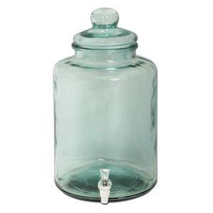 Verre à eau - Soda BONBONNE EN VERRE AVEC ROBINET 12.5 L