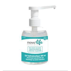 GEL HYDROALCOOLIQUE Gel hydroalcoolique désinfectant NOVOLIFE - Sans c