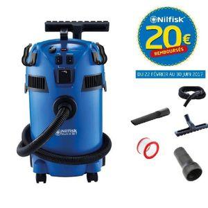 ASPIRATEUR INDUSTRIEL Nilfisk - Aspirateur eau et poussières 1260W 30L (