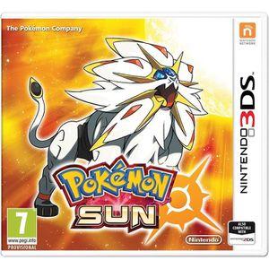 JEU 3DS Pokemon Sun (3DS) - Import Anglais