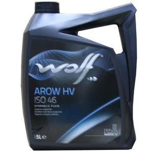 HUILE MOTEUR Bidon 5 litres d'huile paraffinique Wolf HYDRAULIC