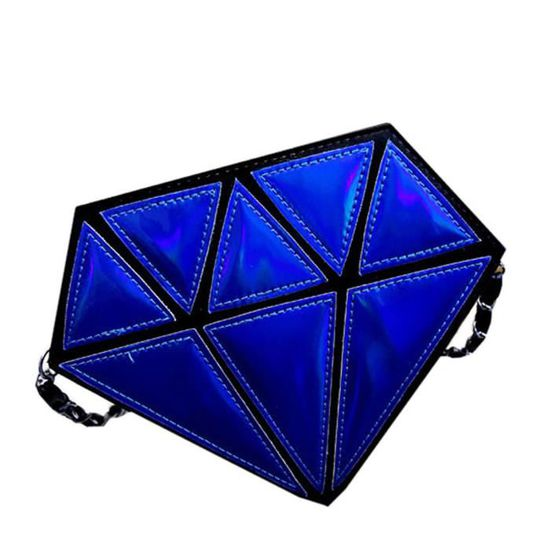 Chaîne Bandoulière Hologram à Messenger Femmes E Holographic Laser benjanies2355 Diamant Forme Sacs gn6q8R