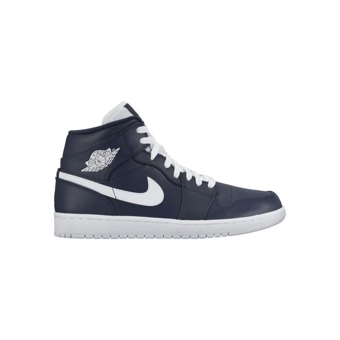 huge discount e2311 16dc7 BASKET NIKE Baskets Air Jordan 1 Mid Chaussures Homme