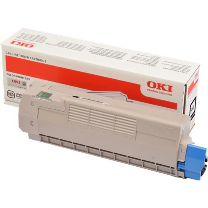 OKI Cartouche toner 46507508 - Compatible C612 - Noir