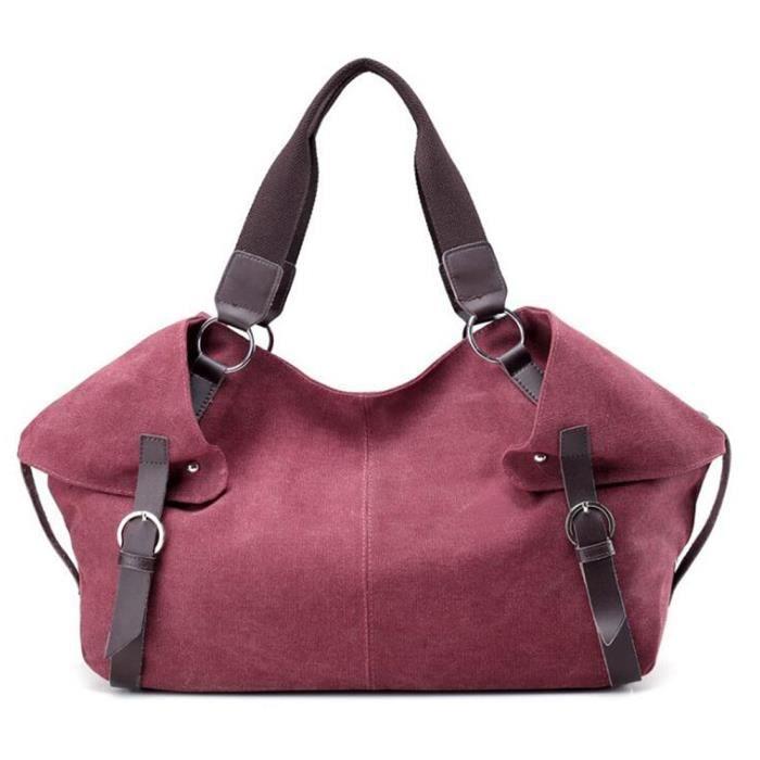 Tm) Nouveau sac à main épaule Toile bandoulière Sacs Hobo HOV8C