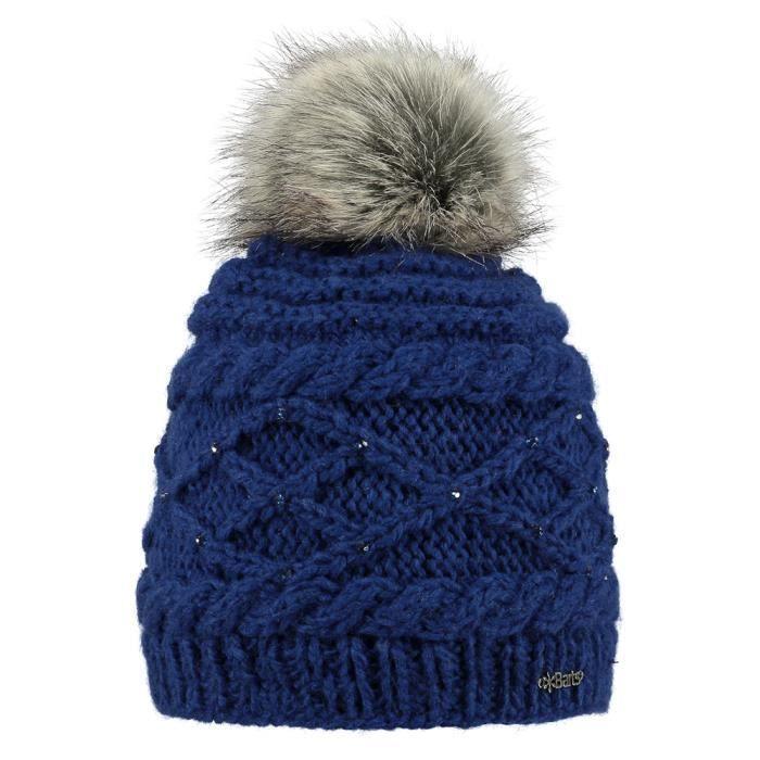 9bd3211f26af Bonnet Cache-oreille Barts Claire Beanie Bleu - Achat   Vente bonnet ...