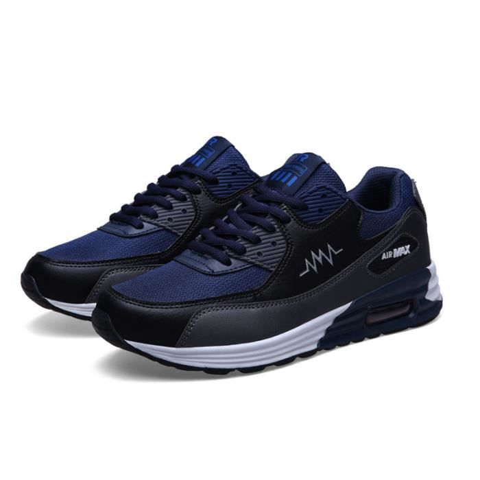 Homme Basket Chaussures de Sport Masculines Running Chaussures à lacets