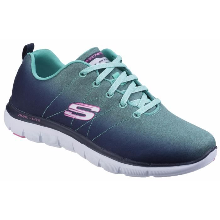 Skechers Bright Side - Baskets à lacets - Femme odhchMq