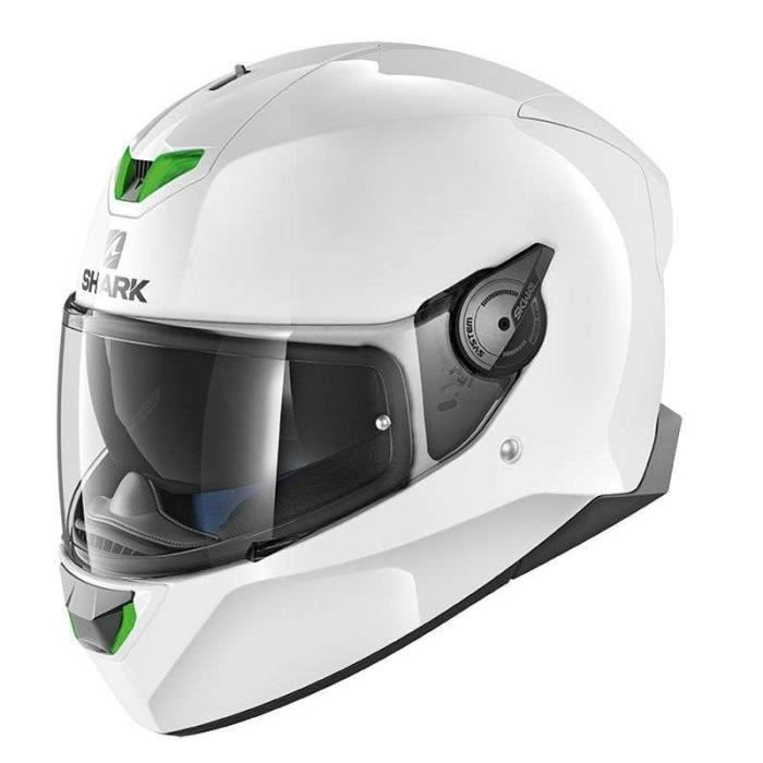 Casque Moto Shark Skwal 2 Blank Achat Vente Casque Moto Scooter