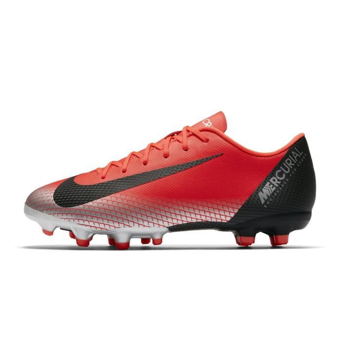 the best attitude ab261 42640 Chaussures football Nike Mercurial Vapor XII Academy CR7 MG Rouge Junior