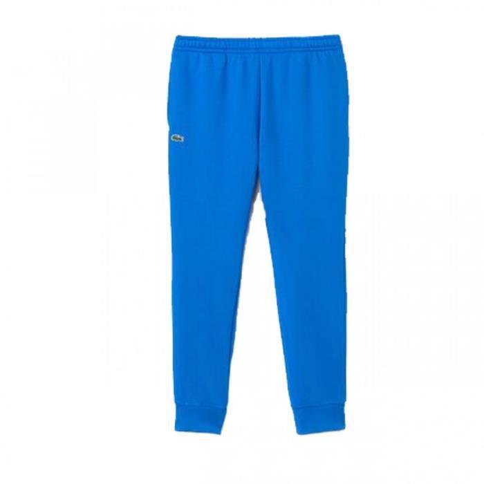 52d2aba6e4 Pantalon de survêtement Lacoste - XH9507-00B9U Bleu Bleu - Achat ...
