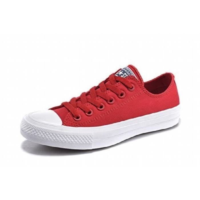 c81c5fdddf1 CONVERSE Low Top Chuck Taylor All Star Ii toile Chaussures femme ...