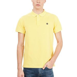 Homme Coton : 100% Timberland SS MILLERS RIVER Jaune Super
