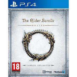 JEU PS4 The Elder Scrolls Online Tamriel Jeu PS4