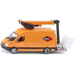 SIKU Camion avec Plateforme - Véhicule Miniature