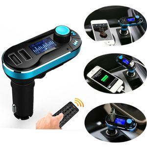 TRANSMETTEUR FM Kit voiture sans fil Bluetooth Lecteur MP3 Transme