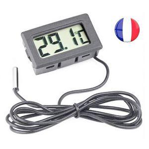 appareil de mesure Eau Thermomètre Aquarium thermomètre digital avec la température ambiante Contrôleurs/régulateurs/mètres