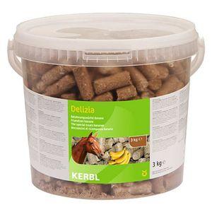 FRIANDISE KERBL Friandises Delizia banane pour chevaux - 3kg