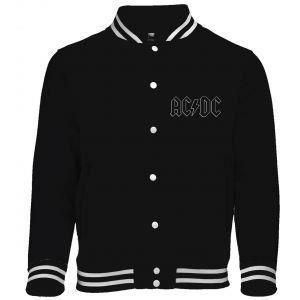 Jacket AC DC - Back in Black Noir - Achat   Vente blouson - Cdiscount 1d5ae57c275