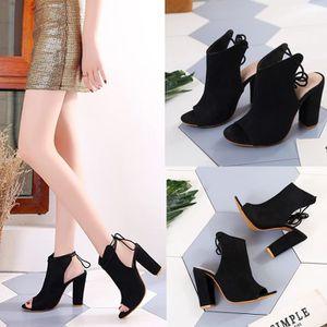 ESCARPIN Chaussures femme Sandales plateforme femme avec bo