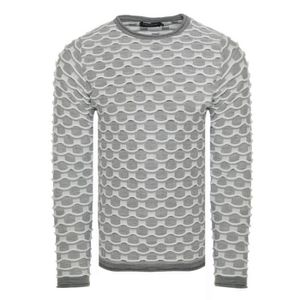 PULL Pull fashion homme Pull 7625 gris clair