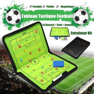 TABLEAU DE COACHING Football Tactique Tableau Stylo Effaceur 24 Aimant