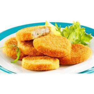 POISSON CUISINÉ 20 croquettes de poisson surgelés ail & fines herb