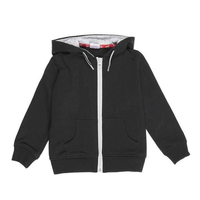 UP2GLIDE Sweatshirt Basic - Enfant garçon - Noir