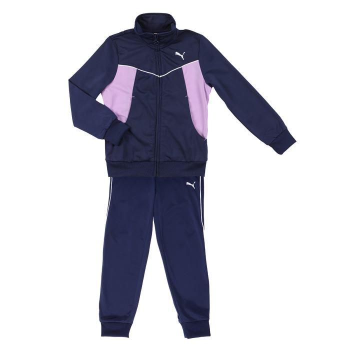 65dcd8c7e5124 PUMA Survêtement Enfant Fille Bleu et rose - Achat   Vente ring ...