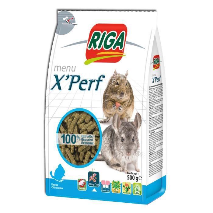 RIGA Menu X'Perf - 500 g - Chinchillas