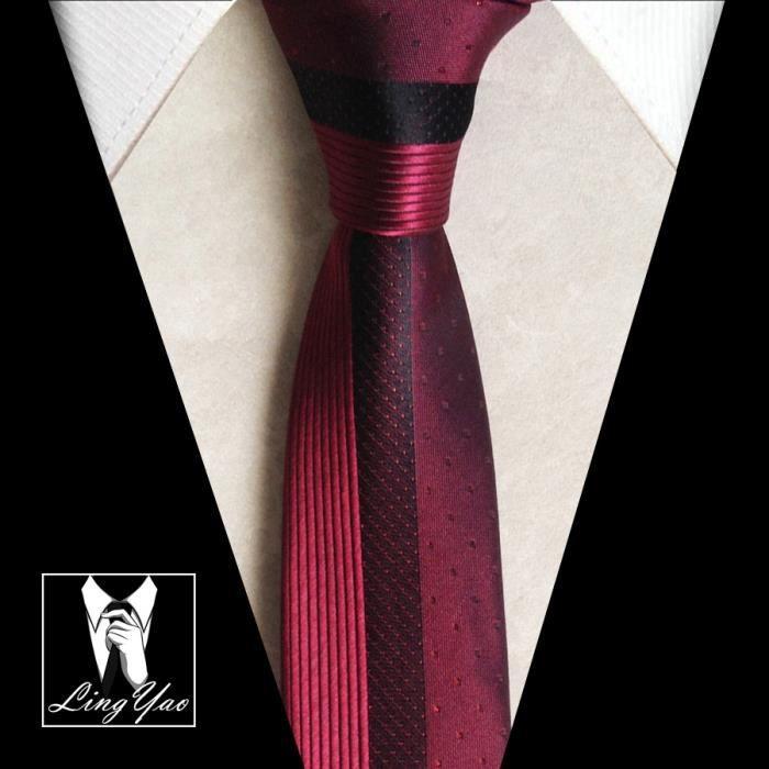 offre spéciale dernières tendances de 2019 magasin discount 5.5 cm les cravates minces unique mode symétrique gravatas ...