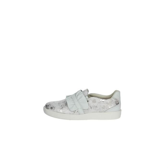 Pablosky Slip-on Chaussures Fille Blanc/Argent, 31