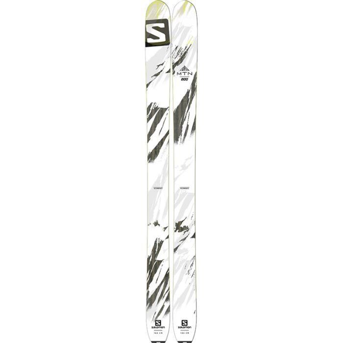diversifié dans l'emballage une autre chance bonne vente de chaussures SALOMON - Skis de Rando - MTN LAB Blanc - - Prix pas cher ...