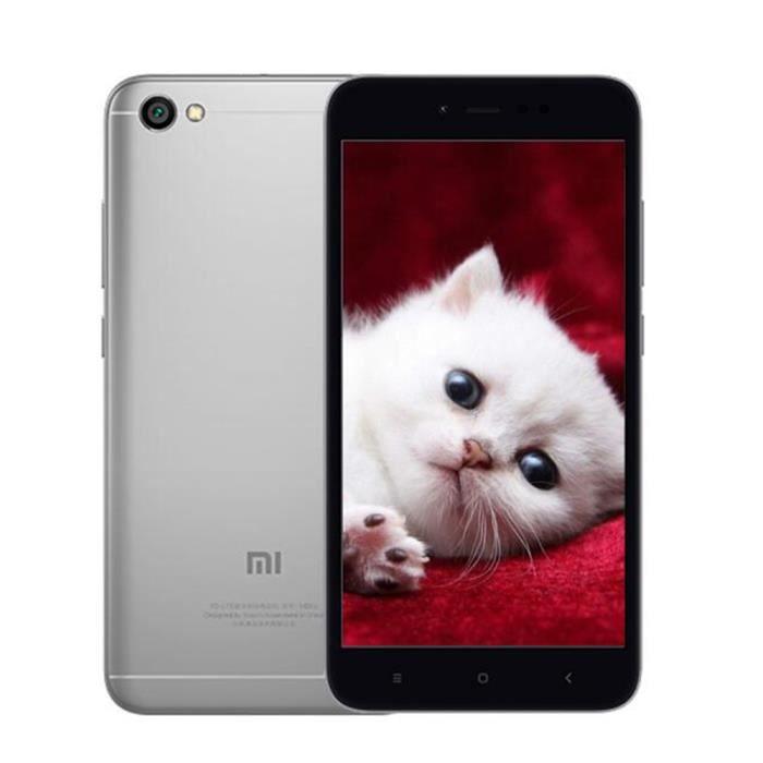 smartphone 4g redmi note 5a 5 5 pouces 2 go de ram 16 go rom 13mp 5mp cam ras miui 9 double sim. Black Bedroom Furniture Sets. Home Design Ideas