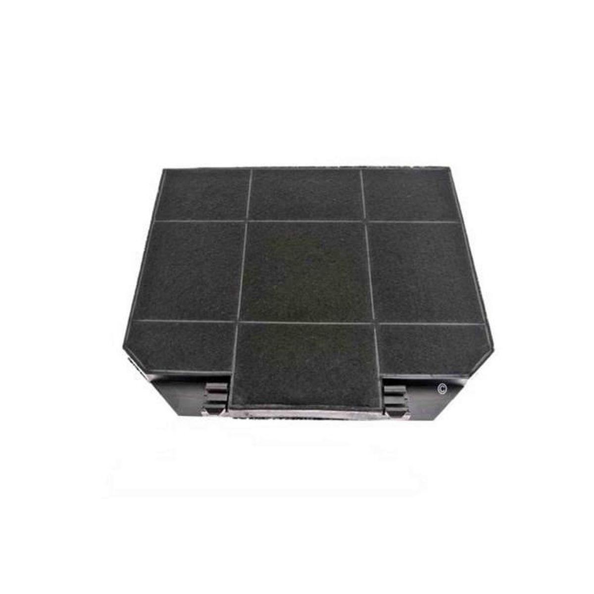 filtre charbon (a l'unite) (265 x 235 mm) pour hotte aeg, airforce