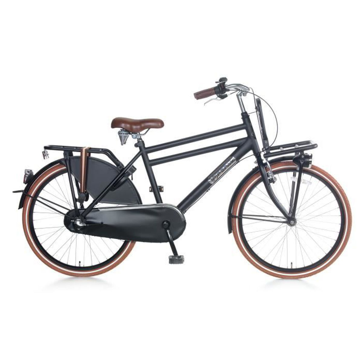 VÉLO DE VILLE - PLAGE Vélo Fille Garçon Popal Daily Dutch Basic 24+ 24 P