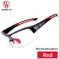 fd258f3509 LUNETTES DE SOLEIL Wheel Up décoloration cyclisme lunettes de soleil
