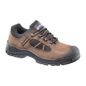 CHAUSSURES DE SECURITÉ Chaussures basses de sécurité marron S3  Taille 43