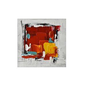 TABLEAU - TOILE NOVATREND - Tableau en toile  Abstrait peint à la