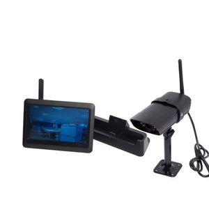 CAMÉRA DE SURVEILLANCE CHACON Station de surveillance IP avec écran porta