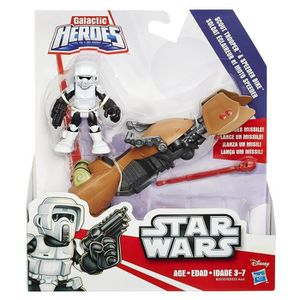 FIGURINE - PERSONNAGE Disney Star Wars Galactic Heroes Soldat Eclairer M