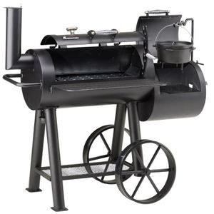 BARBECUE LANDMANN Barbecue fumoir professionnel Tennessee 4