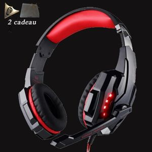 CASQUE  - MICROPHONE Rough casque gamer ps4. casque gamer 7.1 pour jeux