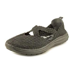 new concept better exclusive shoes Cobb Hill Wow Toile Chaussure Plate Noir Noir - Achat / Vente ...